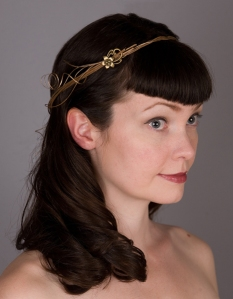 Hunger Games Inspired Golden Circlet