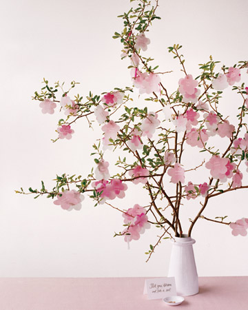 Martha Stewart Weddings - Cherry Blossoms