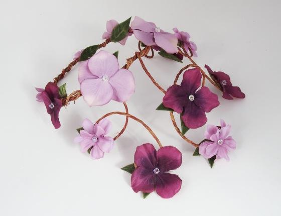 Aurelia Crown - Amethyst & Lilac