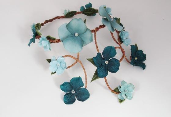 Aurelia Crown - Aqua & Turquoise